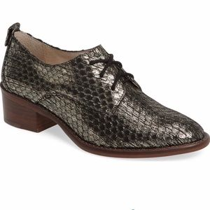 Louise et Cie Lo-Fenn Metallic Snake Oxford 7.5